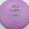 OctoBerg DX Roc - purple - rainbow - 180g - 182-3g - pretty-domey - somewhat-stiff