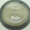 Shryke - Champion - smoke - champion - white - 304 - 167g - 168-8g - neutral - somewhat-stiff