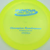 Roadrunner - yellowgreen - champion - blue - 304 - 168g - 168-8g - somewhat-domey - somewhat-stiff