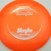 Shryke - Champion - orange - champion - silver - 304 - 167g - 168-4g - neutral - somewhat-stiff