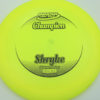 Shryke - Champion - yellow - champion - black - 304 - 168g - 168-8g - neutral - somewhat-stiff