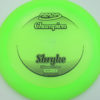 Shryke - Champion - green - champion - black - 304 - 162g - 164-3g - somewhat-flat - neutral