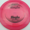 Shryke - Champion - dark-pink - champion - black - 304 - 175g - 175-9g - somewhat-domey - somewhat-stiff