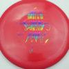 OctoBerg Destroyer - red - rainbow - 167g - 168-6g - somewhat-domey - somewhat-stiff
