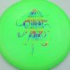 OctoBerg Destroyer - green - rainbow - 168g - 168-9g - somewhat-flat - neutral