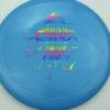 OctoBerg Destroyer - blue - rainbow - 168g - 169-7g - somewhat-flat - neutral