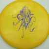 OctoBerg Destroyer - yellow - blue-fracture - 175g - 175-6g - somewhat-domey - somewhat-stiff
