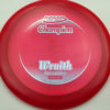 Wraith - redpink - champion - light-blue - 304 - 173-175g-2 - 173-9g - somewhat-domey - neutral