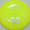Wraith - yellow - champion - silver - 304 - 168g - 169-2g - somewhat-domey - somewhat-stiff