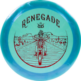 Dynamic Discs Lucid-X Glimmer Renegade.