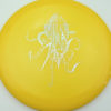 OctoBerg Wraith - yellow - silver-squares - 173-175g-2 - 176-8g - somewhat-domey - somewhat-stiff