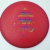 OctoBerg DX Roc - red - rainbow - 180g - 179-1g - somewhat-domey - somewhat-stiff