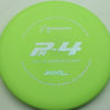 PA4 - light-green - 300-soft - silver-dots-small - 304 - 174g - 174-2g - super-flat - somewhat-gummy