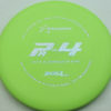 PA4 - light-green - 300-soft - silver-dots-small - 304 - 174g - 174-3g - super-flat - somewhat-gummy