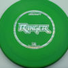 Ringer - green - d-line - silver-holographic - 174g - 174-2g - super-flat - somewhat-stiff