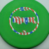 Ringer - green - d-line - flag - 173g - 173-9g - super-flat - somewhat-stiff