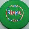 Ringer - green - d-line - flag - 173g - 173-4g - super-flat - somewhat-stiff