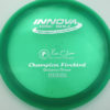 Firebird - Champion - green - champion - silver - 173-175g - 176-1g - somewhat-domey - neutral