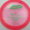 Firebird - Champion - pink - champion - green - 173-175g - 174-7g - somewhat-domey - neutral
