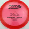 Firebird - Champion - redpink - champion - black - 173-175g - 175-3g - somewhat-domey - neutral