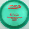 Firebird - Champion - blue-green - champion - red - 173-175g - 175-5g - somewhat-domey - neutral