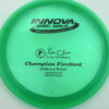 Firebird - Champion - green - champion - black - 173-175g - 175-3g - somewhat-domey - neutral