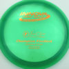 Firebird - Champion - green - champion - bronze - 173-175g - 175-8g - somewhat-domey - neutral