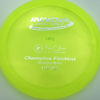 Firebird - Champion - yellowgreen - champion - silver - 173-175g - 174-4g - somewhat-domey - neutral