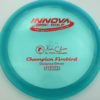 Firebird - Champion - blue - champion - red - 173-175g - 175-6g - somewhat-domey - neutral
