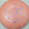Zeus - Paul McBeth - light-purple-cross-lines - 173-175g - 175-5g - pretty-domey - somewhat-stiff
