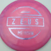 Zeus - Paul McBeth - light-purple-cross-lines - 173-175g - 176-5g - pretty-domey - somewhat-stiff