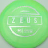 Zeus - Paul McBeth - silver-diamond-plate - 173-175g - 176-7g - super-flat - pretty-stiff
