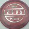 Zeus - Paul McBeth - silver-diamond-plate - 173-175g - 175-9g - pretty-domey - somewhat-stiff