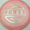 Zeus - Paul McBeth - silver-diamond-plate - 173-175g - 176-0g - super-domey - somewhat-stiff