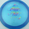 OctoBerg Firebird - blue - luster-champion - rainbow - 175g - 174-8g - somewhat-domey - somewhat-stiff