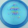 OctoBerg Firebird - blue - luster-champion - rainbow - 171g - 172-3g - somewhat-flat - somewhat-stiff