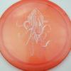 OctoBerg Firebird - orange - luster-champion - white - 175g - 173-6g - somewhat-flat - somewhat-stiff