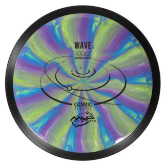 Cosmic Wave - Swirl with black rim and black stamp